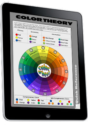 a discussion of the basic concepts of the color theory The color wheel is all about mixing colors mix the primary or base colors red, yellow, and blue, and you get the secondary colors on the color wheel: orange, green, and violet.