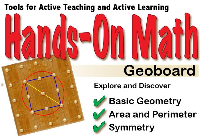 Hands-On Math Geoboard iPad App