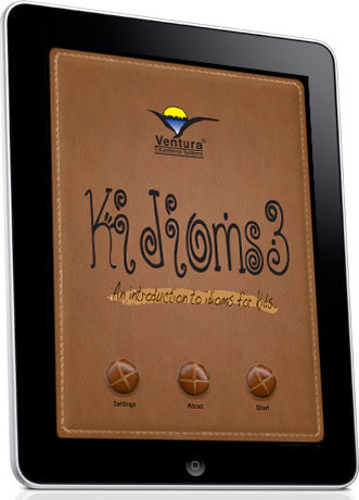 Kidioms 3 - An Introduction to Idioms for Kids - iPad App